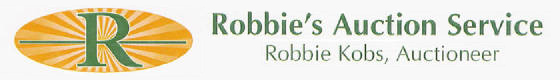 Robbie's Auction Service, Logo